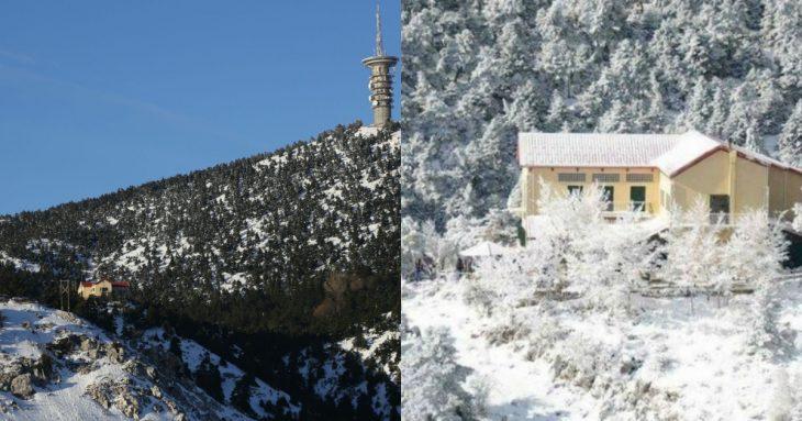 Πάρνηθα χιόνια: Η ΕΜΥ προειδοποιεί για χιονοπτώσεις στα ορεινά