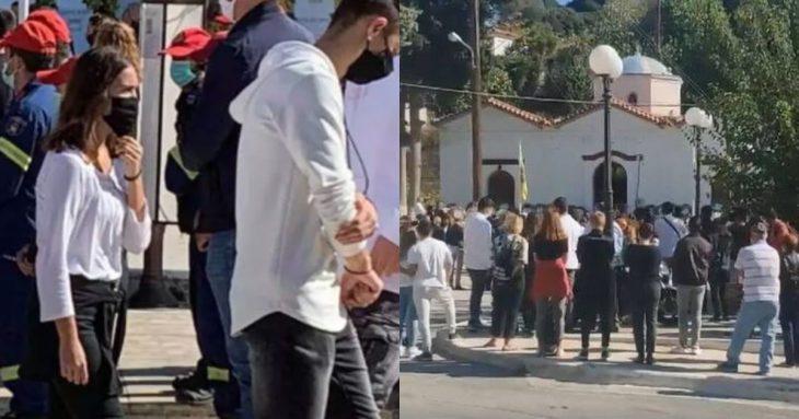 Σάμος: Σπαραγμός στην κηδεία της Κλαίρης