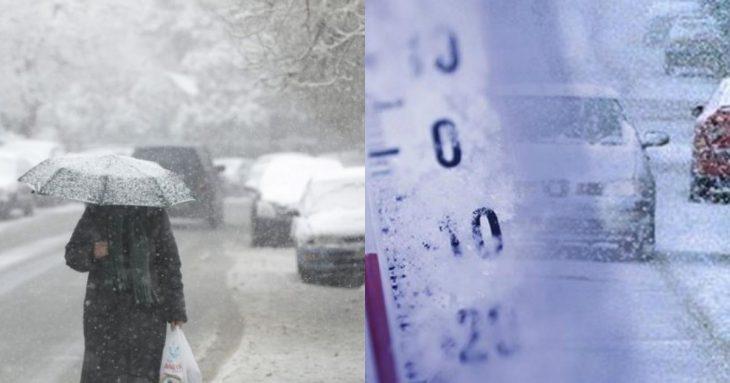 Πρόγνωση καιρού Κυριακής: Χιονοπτώσεις και παγετός