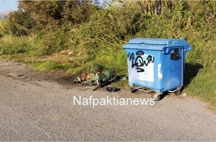 Ναύπακτος: Εμπρησμοί σε κάδους απορριμάτων και ανακύκλωσης