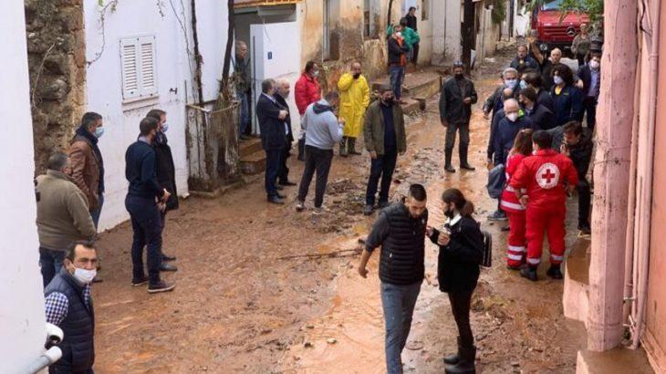 Κακοκαιρία στην Κρήτη: Θα δοθούν άμεσα αποζημιώσεις στους πληγέντες