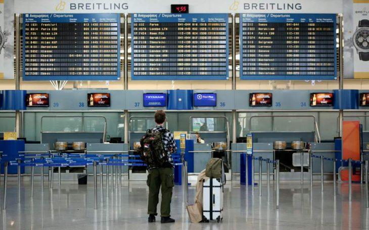 Ελλάδα επιβατική κίνηση: 30 εκατ. λιγότεροι επιβάτες φέτος
