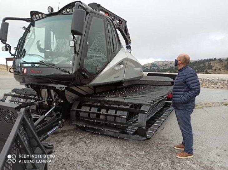 Χιονοδρομικό κέντρο Καλαβρύτων: Αναβαθμίστηκε με νέο εξοπλισμό