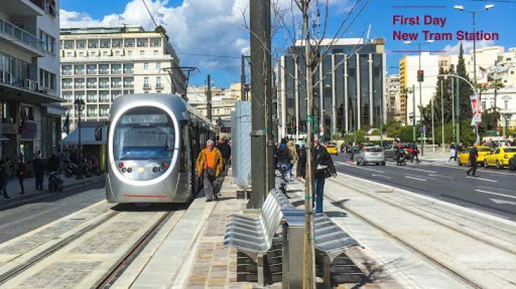 Σύνταγμα: Μετά από δύο χρόνια εργασιών το τραμ επιστρέφει πάλι