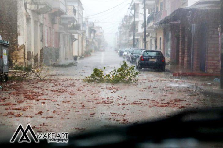 Αιτωλοακαρνανία: Μεγάλες οι καταστροφές στον Αστακό λόγω κακοκαιρίας