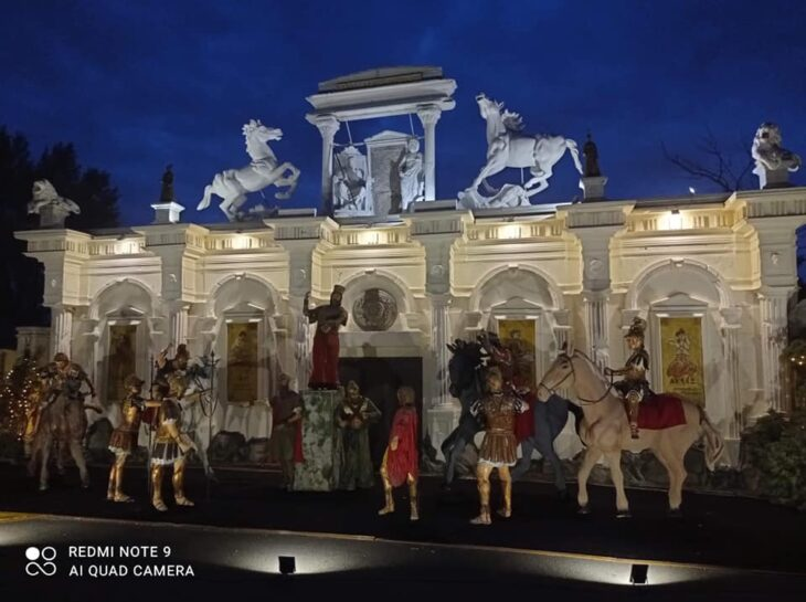 Θεσσαλονίκη: Η μεγαλύτερη φάτνη στην Ευρώπη για τα Χριστούγεννα