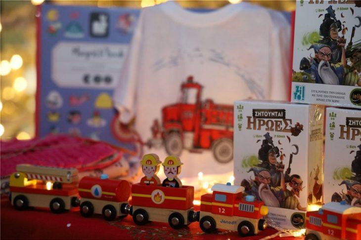 Ογκολογική Μονάδα «Ελπίδα»: Άη-Βασίληδες μοίρασαν δώρα στα παιδιά