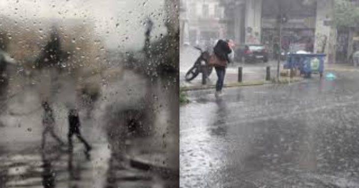 Έκτακτο δελτίο επιδείνωσης: Ραγδαία αλλαγή καιρού με βροχές και χαλάζι