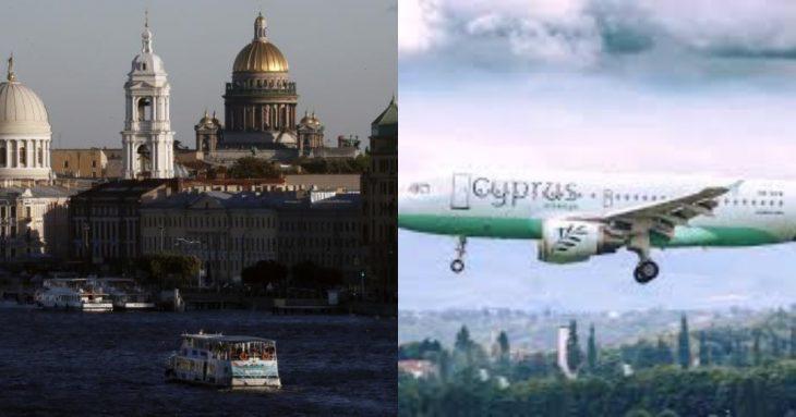 Cyprus Airways ανακοίνωση: Πτήσεις για Μόσχα και Αγία Πετρούπολη