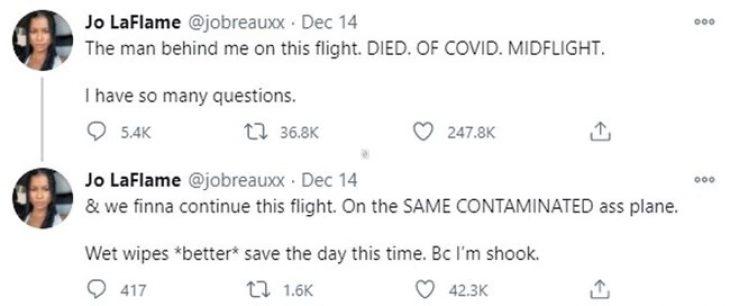 United Airlines: Πέθανε επιβάτης θετικός στον covid-19 σε πτήση