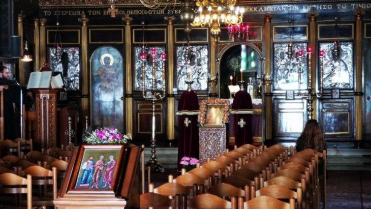 Καλαμάτα εκκλησία: Ιερέας φώναξε σε πιστό που δε φορούσε μάσκα