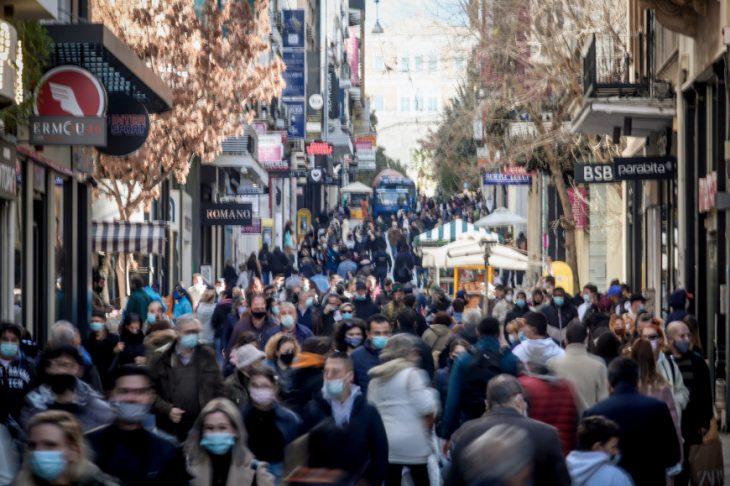 Ερμού Αθήνα: Κοσμοσυρροή στην Αθήνα το Σαββατοκύριακο