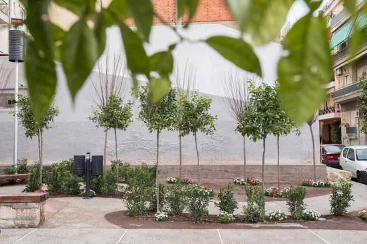 Κολωνός: Δημιουργήθηκε «πάρκο τσέπης» από το Δήμο Αθηναίων