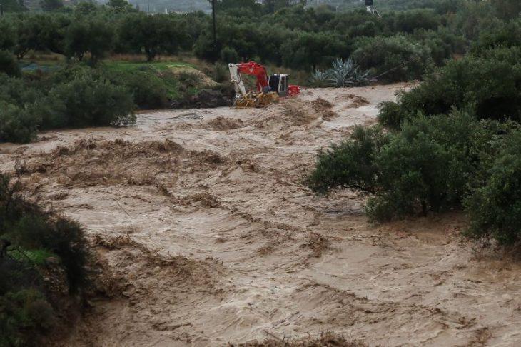Σέρρες κακοκαιρία: Φόβος για υπερχείλιση του Στρυμόνα ποταμού