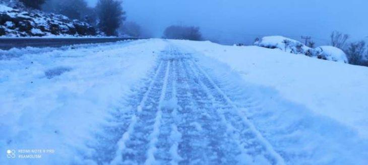 Κρήτη κακοκαιρία: Στα λευκά ο Ψηλορείτης - Θα χιονίσει και σήμερα