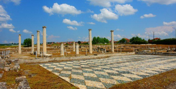 Αρχαία Πέλλα: Κατασκευάζεται κτίριο εξυπηρέτησης επισκεπτών