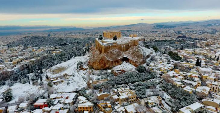Χιόνια στην Αθήνα: Δείτε πού θα χιονίσει στην Αττική