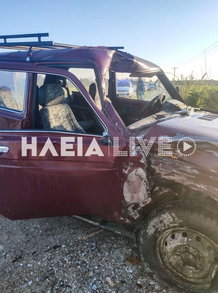 Ηλεία τραγωδία: Φονικό τροχαίο ατύχημα στοίχισε στη ζωή σε 25χρονο