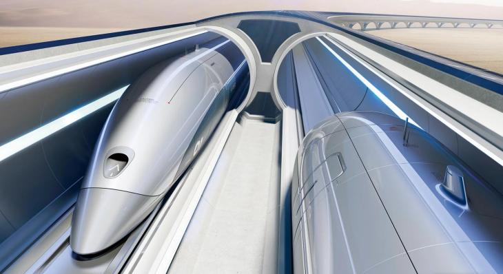 Hyperloop: Αυτά είναι τα νέα φουτουριστικά τρένα του μέλλοντος