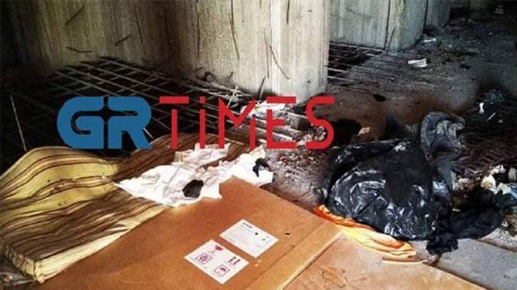 Θεσσαλονίκη άστεγος: Νεκρός 54χρονος άστεγος σε κτίριο κοντά στο ΑΠΘ