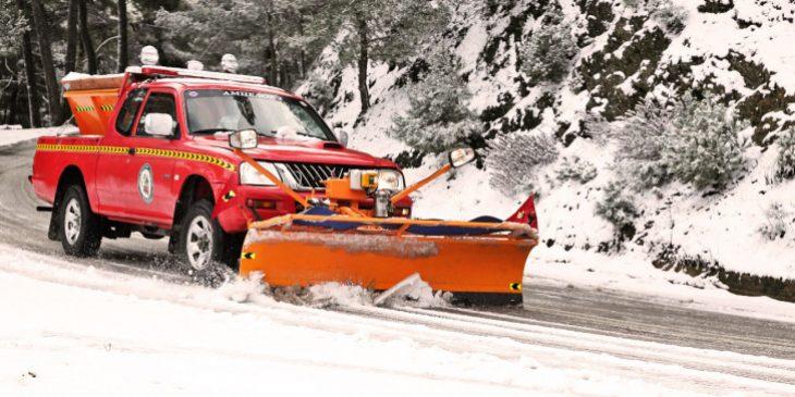 Πρόγνωση για χιόνια: Κακοκαιρία με πολικό ψύχος το Σαββατοκύριακο