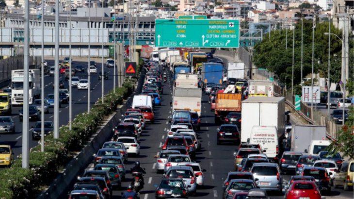 Κηφισός: Καραμπόλα έξι οχημάτων στη Λεωφόρο Κιφησού - Δείτε γιατί
