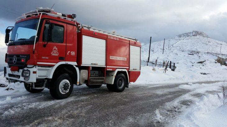 Κάρπαθος: Παρέα πέντε ατόμων έφαγε πρόστιμα γιατί πήγε στα χιόνια