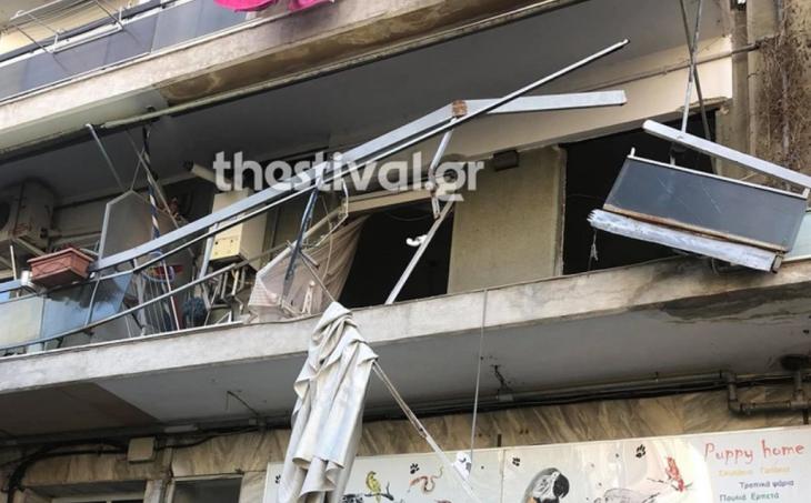 Θεσσαλονίκη έκρηξη: Έκρηξη σε διαμέρισμα στην περιοχή του Βαρδάρη