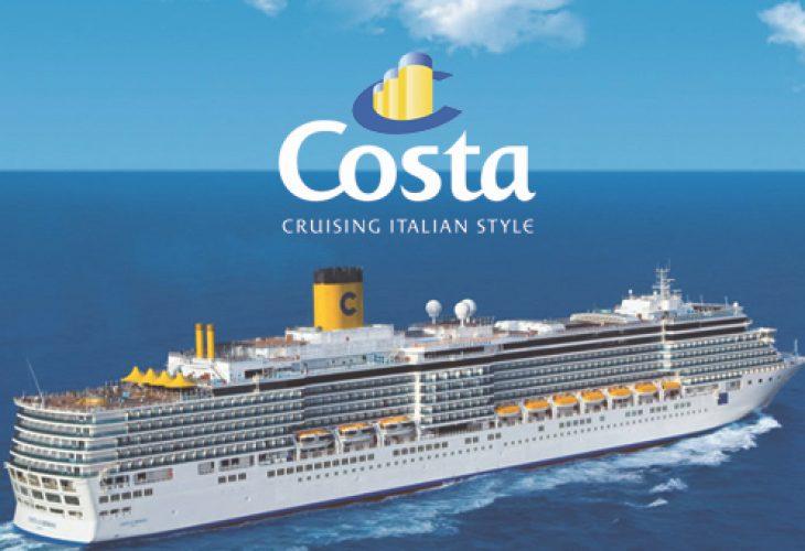 Costa Cruises: Αναβολή της κρουαζιέρας στην Ελλάδα για το Μάϊο