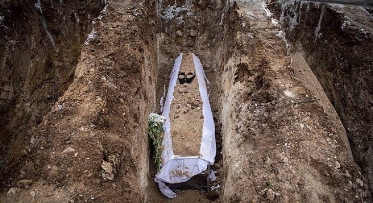 Πιερία: Η πρώτη εκταφή νεκρού που πέθανε από κορονοϊό