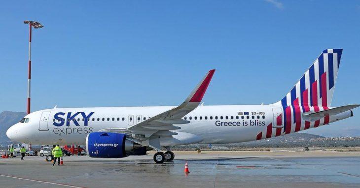 Sky Express: Νέες καθημερινές πτήσεις από Αθήαν προς Ρόδο στις 15/3