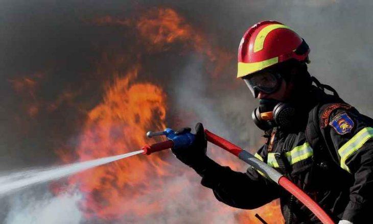Μυτιλήνη τραγωδία: Φωτιά ξέσπασε σε ποιμνιοστάσιο του νησιού
