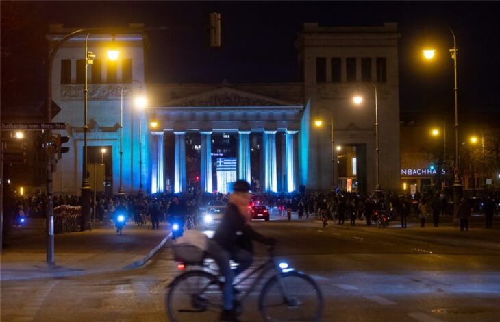 25η Μαρτίου εορτασμός: Κτίρια στον κόσμο στα ελληνικά χρώματα
