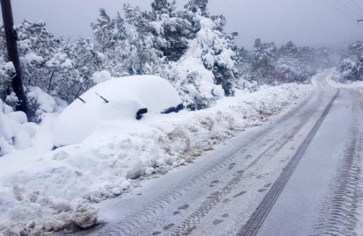 25η Μαρτίου χιόνια: Σε ποιες περιοχές της Αττικής θα χιονίσει