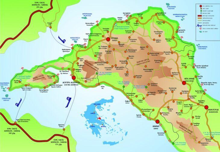 Ελληνικά Νησιά Φίτζι: Παράδεισος της Ελλάδας που πας με αυτοκίνητο