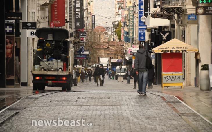 Ανοιχτό λιανεμπόριο: Οι πρώτες εικόνες από το κέντρο της Αθήνας
