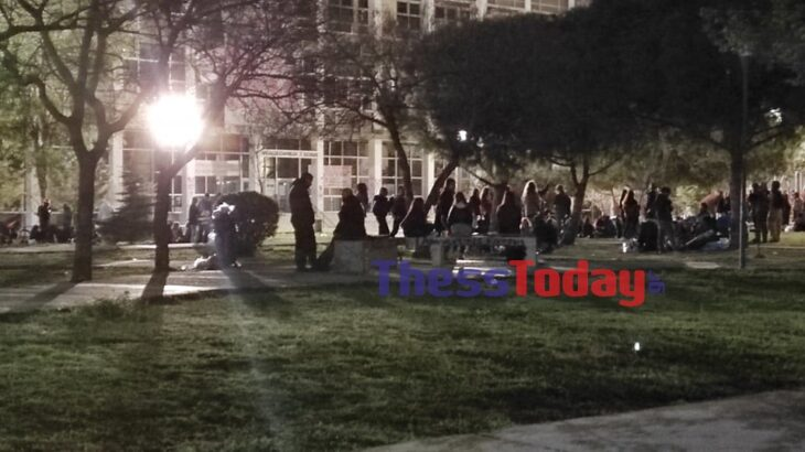 Αριστοτέλειο Πανεπιστήμιο: Απίστευτος συνωστισμός στα κορονοπάρτι