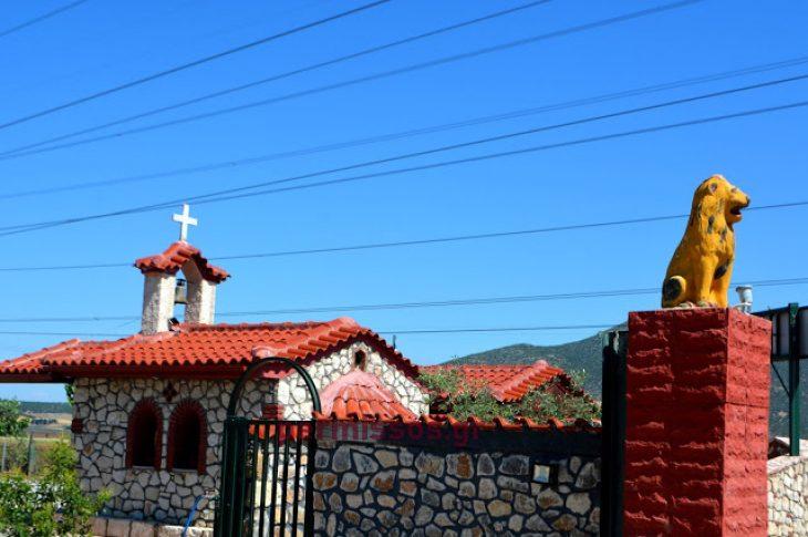 Θήβα: Άνδρας έχτισε εκκλησάκι προς τιμή του Αγίου Ιωάννη του Ρώσου