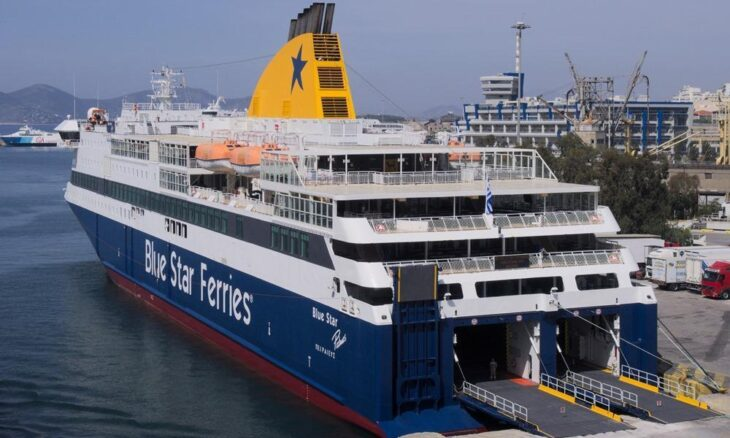 Blue Star Patmos: Ξεκινά το δρομολόγιο Πειραιάς - Σίγρι Λέσβου στις 12/6