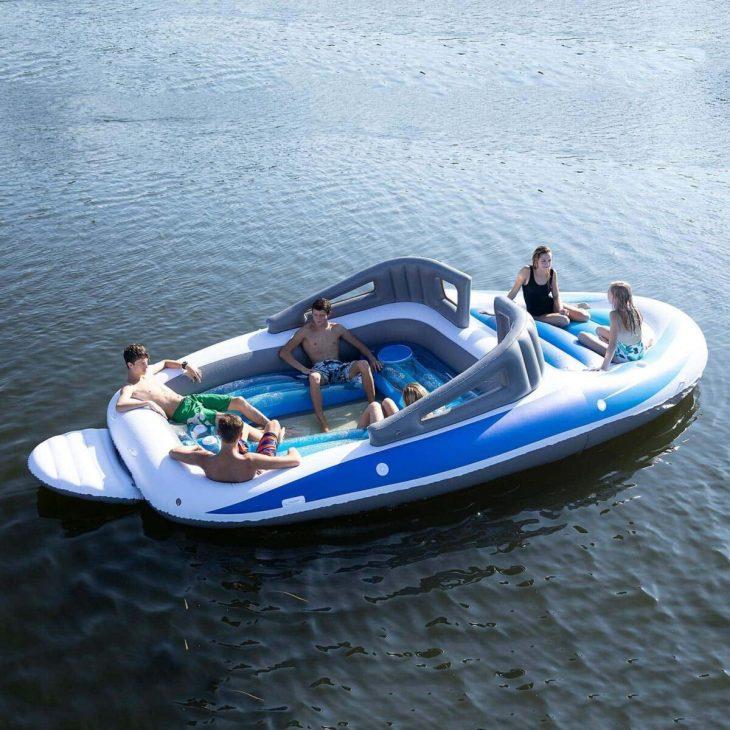 Νέα βάρκα που φουσκώνει μόνη της σε 30 λεπτά και χωράει 6 άτομα