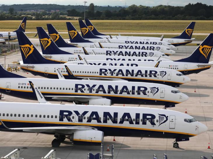Νέες πτήσεις Ryanair: 4 νέες διαδρομές προς ελληνικούς προορισμούς