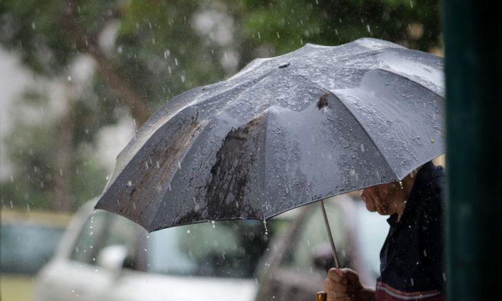 Έκτακτο δελτίο καιρού: Ισχυρές βροχές το Σαββατοκύριακο στη χώρα
