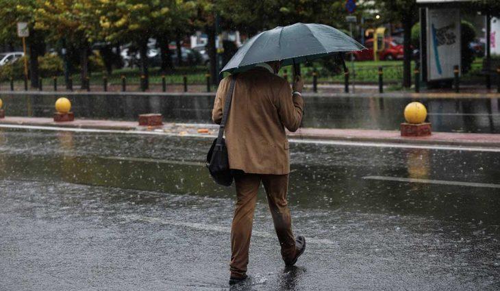 Πρόγνωση καιρού 23/4: Βροχές και καταιγίδες σήμερα στη χώρα