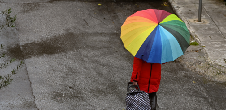 Πρόγνωση καιρού 6/4: Κακοκαιρία με αυξημένες νεφώσεις και βροχές