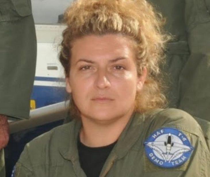 Ιωάννα Χρυσαυγή: Η πρώτη Ελληνίδα πιλότος μαχητικού αεροσκάφους