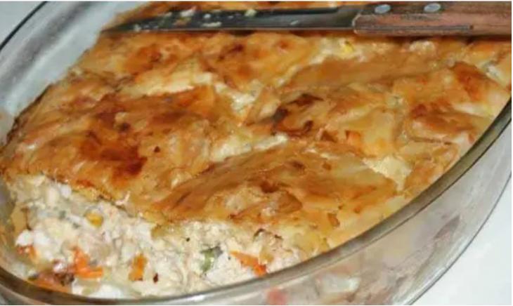Κοτόπιτα σουφλέ: Κρυφή συνταγή για γεύση μούρλια που λιώνει στο στόμα