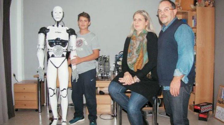 Δημήτρης Χατζής: Ο 15χρονος Καβαλιώτης που έφτιαξε ρομπότ με τεχνητή νοημοσύνη