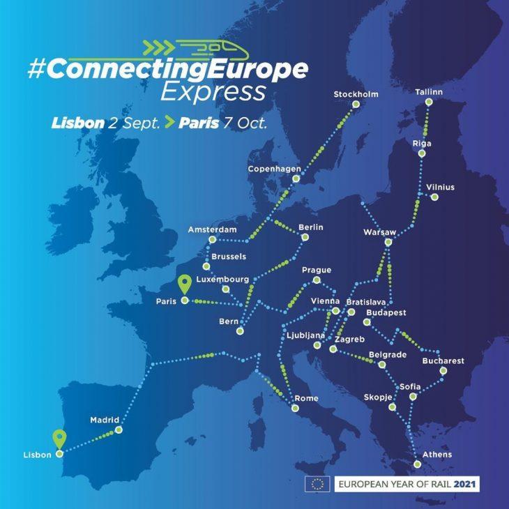 Γύρος της Ευρώπης με τρένο: Ξεκινάει το Σεπτέμβριο και κλείνουμε θέσεις