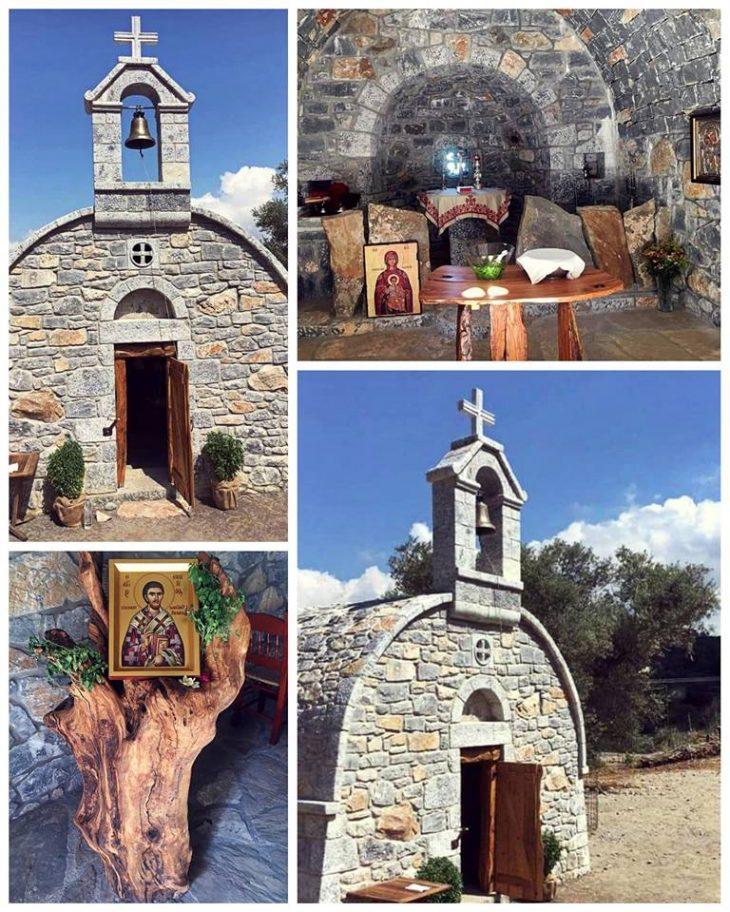 Βαγγέλης Γιακουμάκης: Το εκκλησάκι που χτίστηκε στη μνήμη του