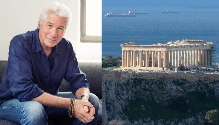 Ο Ρίτσαρντ Γκιρ αποθεώνει τη χώρα μας: «Ποιος μπορεί να μην αγαπά την Ελλάδα; Ολοι έχουμε 1 κομμάτι της εντός μας»